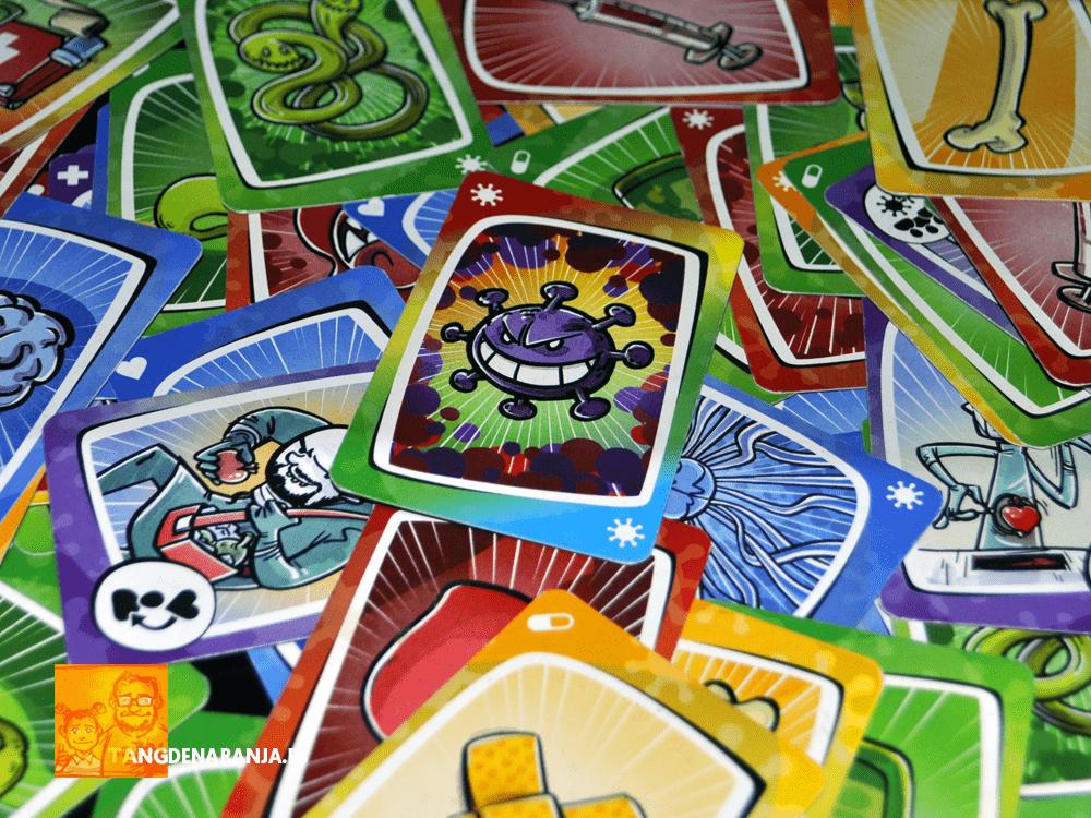 Virus! juego de mesa cartas