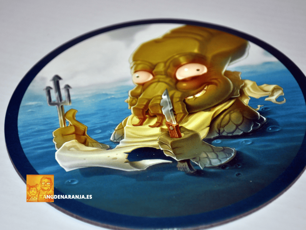 Piratas al agua - Kraken
