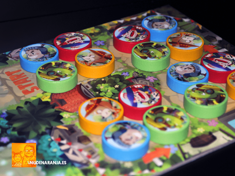 Kingdom Run Ankama juego de mesa