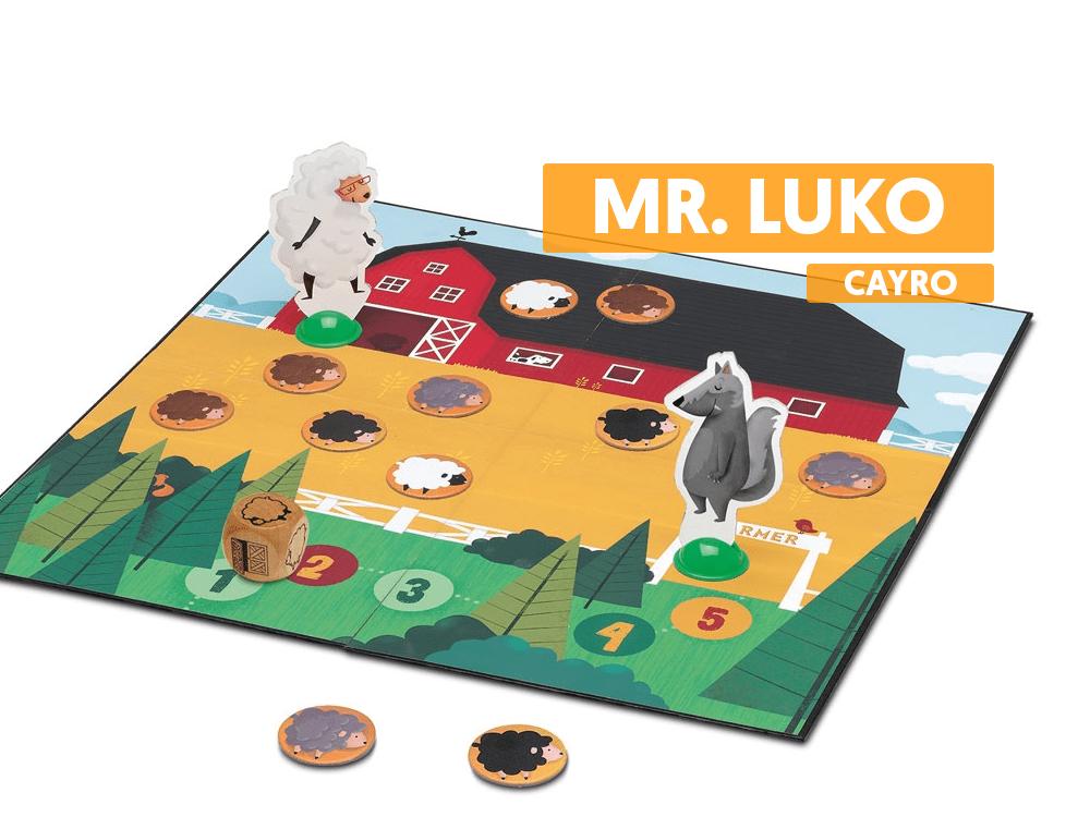 Mr Luko Cayro juegos de mesa infantiles