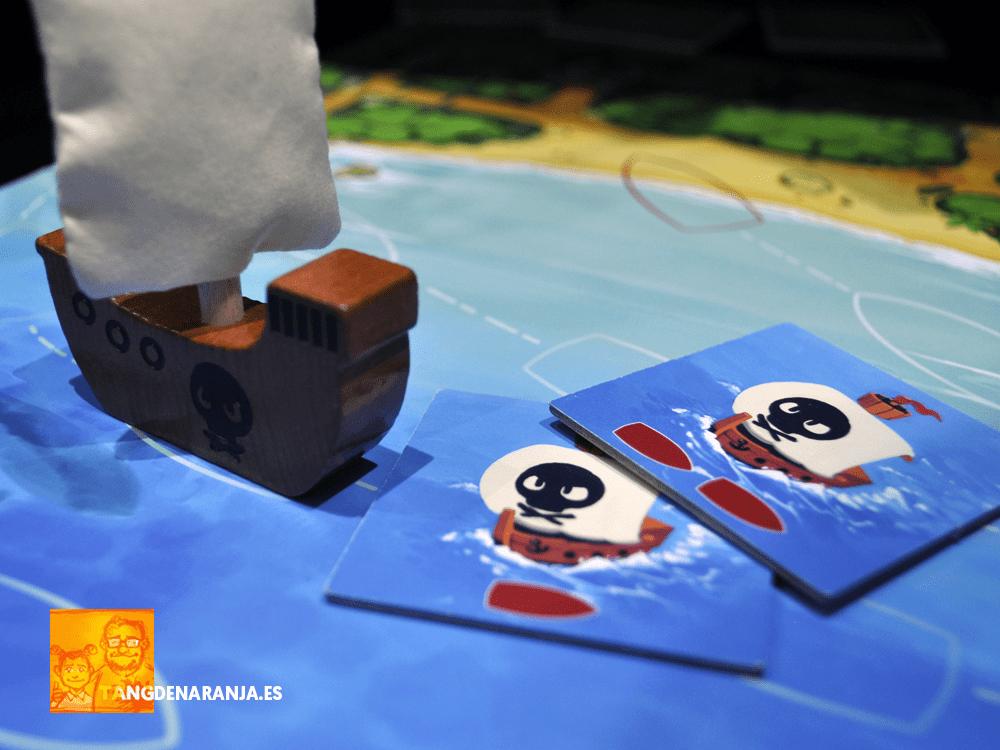 Karuba junior Piratas barco haba
