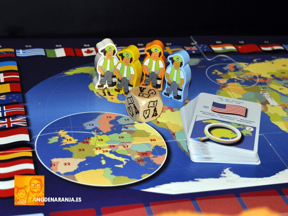 Paises del mundo reseña juego de mesa haba componentes geografia