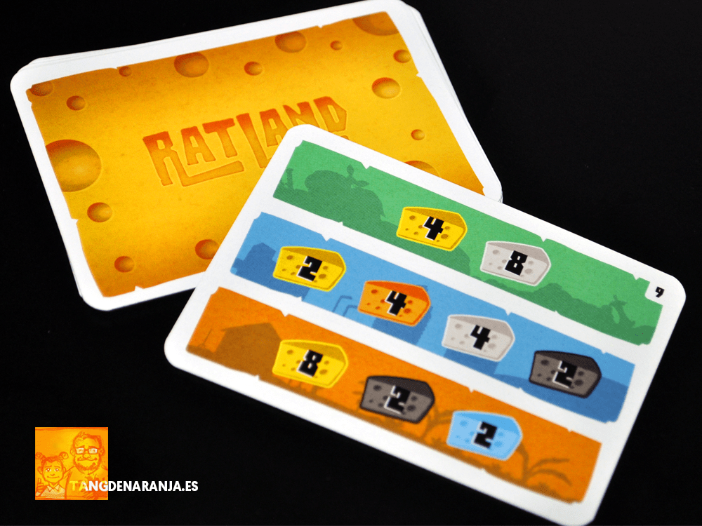 Ratland juego de mesa reseña cartas queso