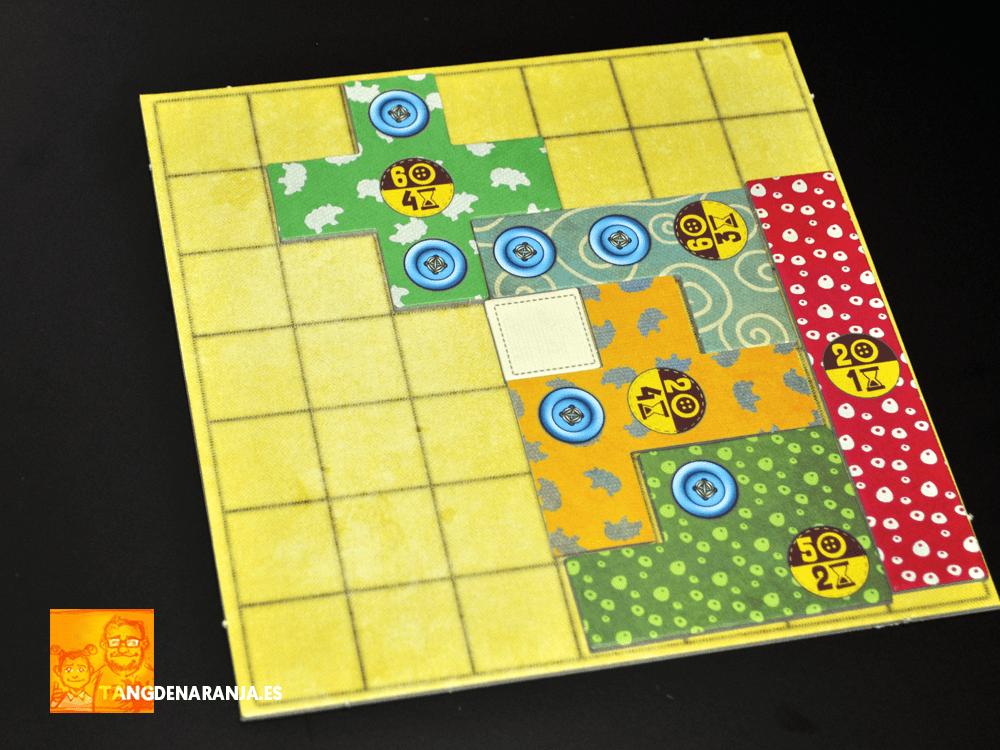 pacthwork exprés reseña juego de mesa