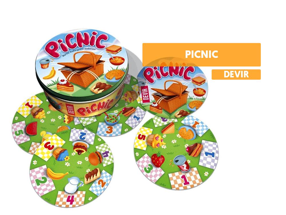 reseña picnic devir juego de mesa