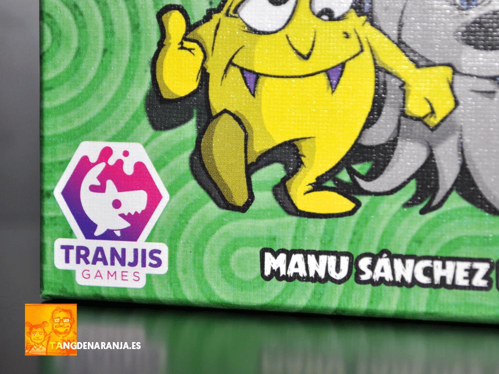 Monster Kit Manu Sanchez Tranjis Games reseña monstruos cartas