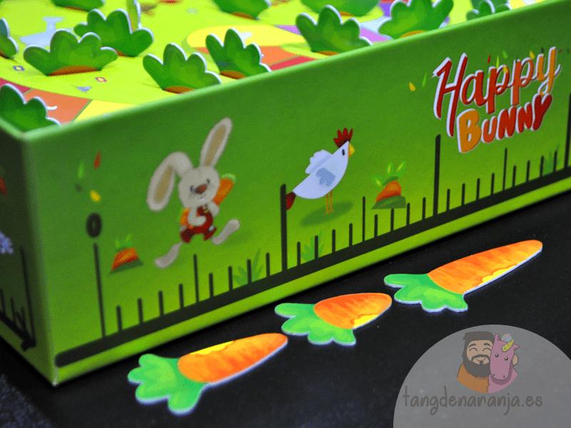 Happy Bunny juego de mesa infantil niños cooperativo conejito mercurio regla