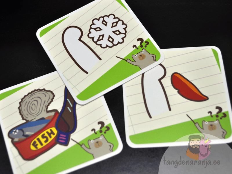 Pick a oso polar bonificación cartas juego devir