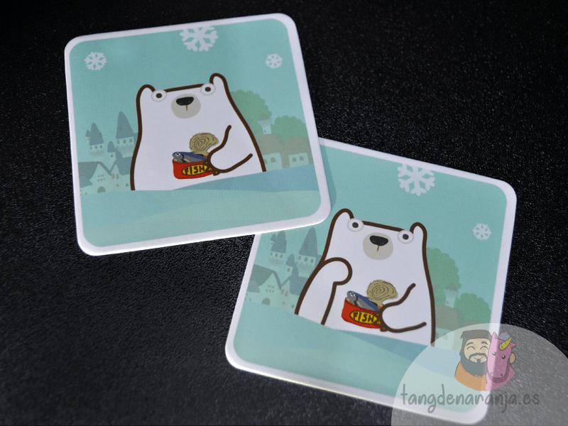 Pick a oso polar brazo cartas juego devir