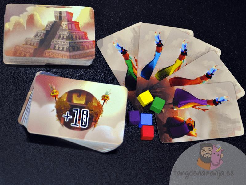 piramide del sol juego de mesa pavana games componentes