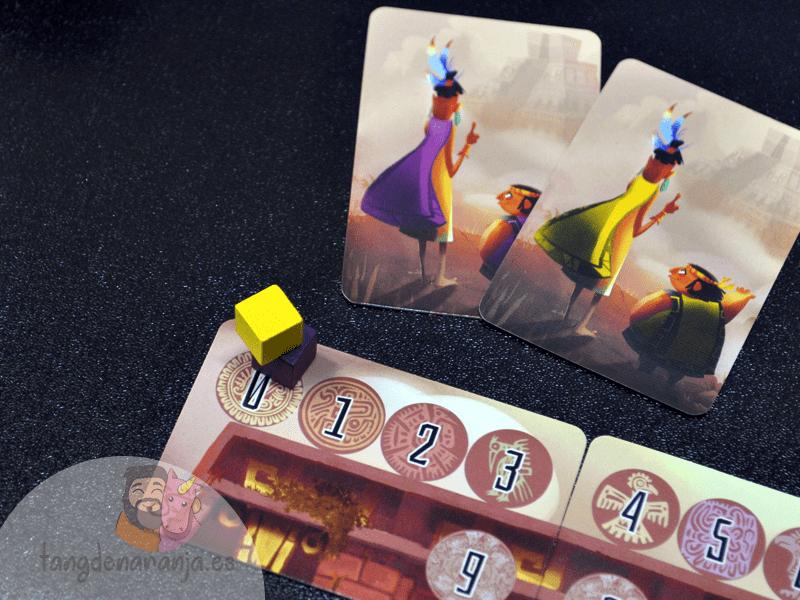piramide del sol juego de mesa pavana games puntos