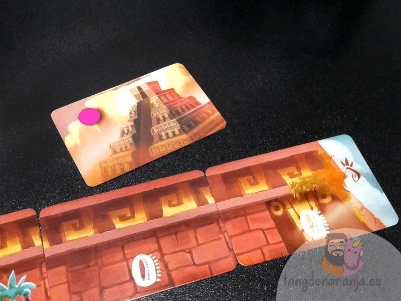 piramide del sol juego de mesa pavana games setup