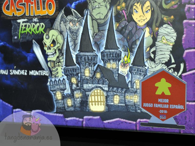 El Castillo Del Terror átomo Games Tang De Naranja