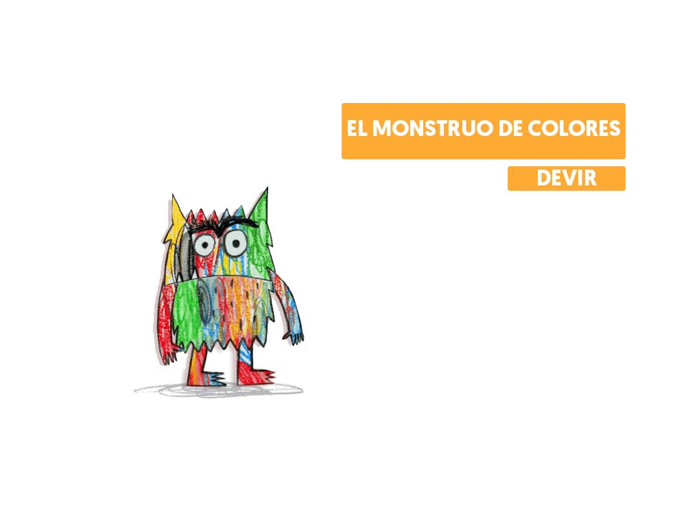 El monstruo de colores juego de mesa anna llenas emociones