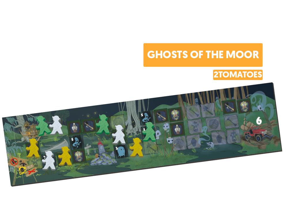 Ghosts of the moor juego de mesa 2tomatoes DESTACADA