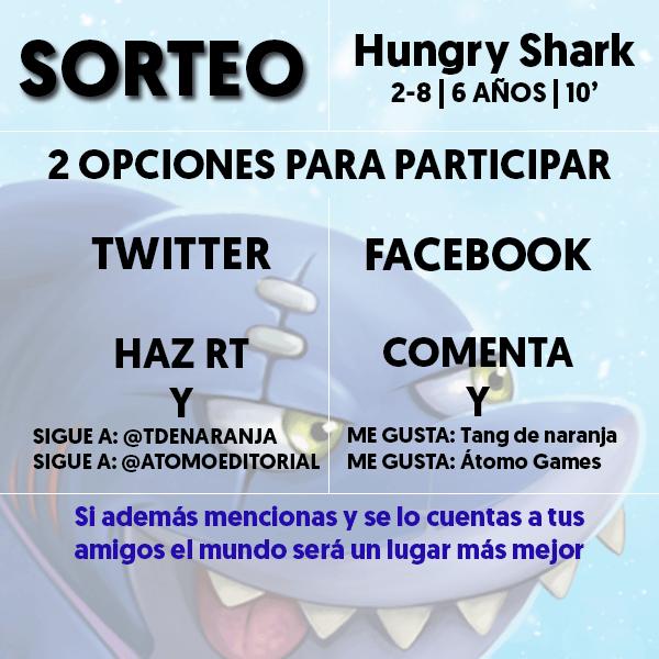 Sorteo Hungry Shark