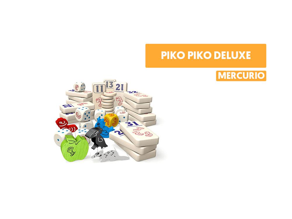 Piko Piko Deluxe juego de mesa como se juega reseña knizia mercurio destacada