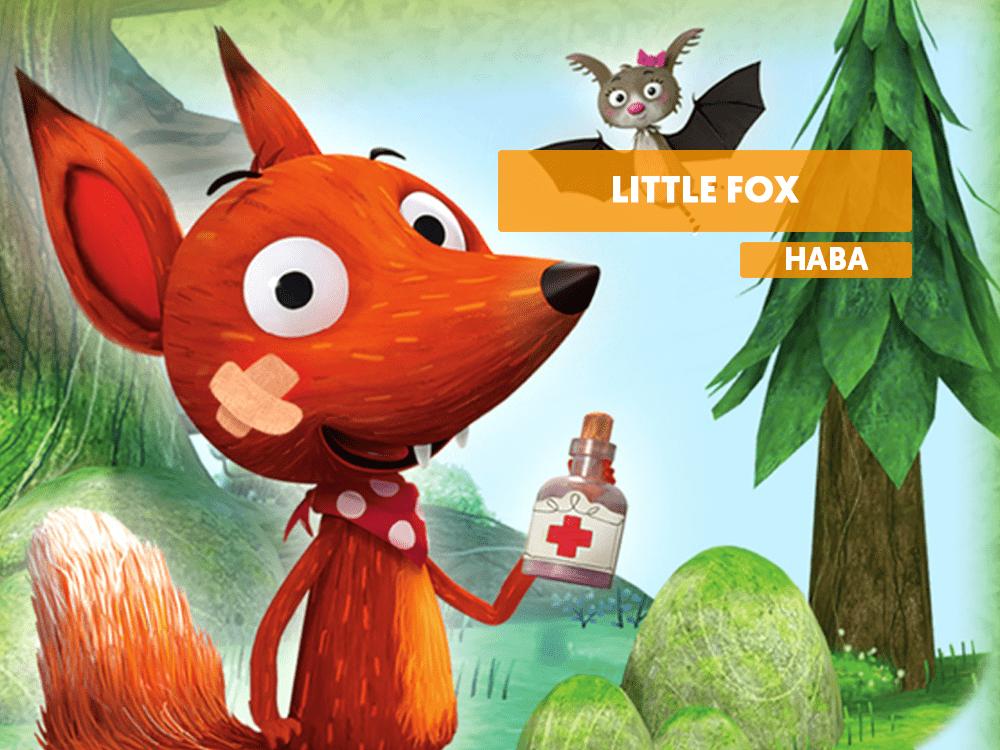 Little Fox médico de animales juego de mesa haba reseña como jugar