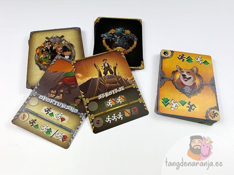 Cerbero - Cartas del juego de mesa
