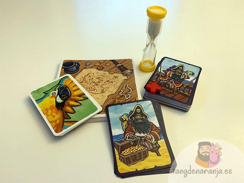 Juego de mesa El Mapa del Pirata tranjis games