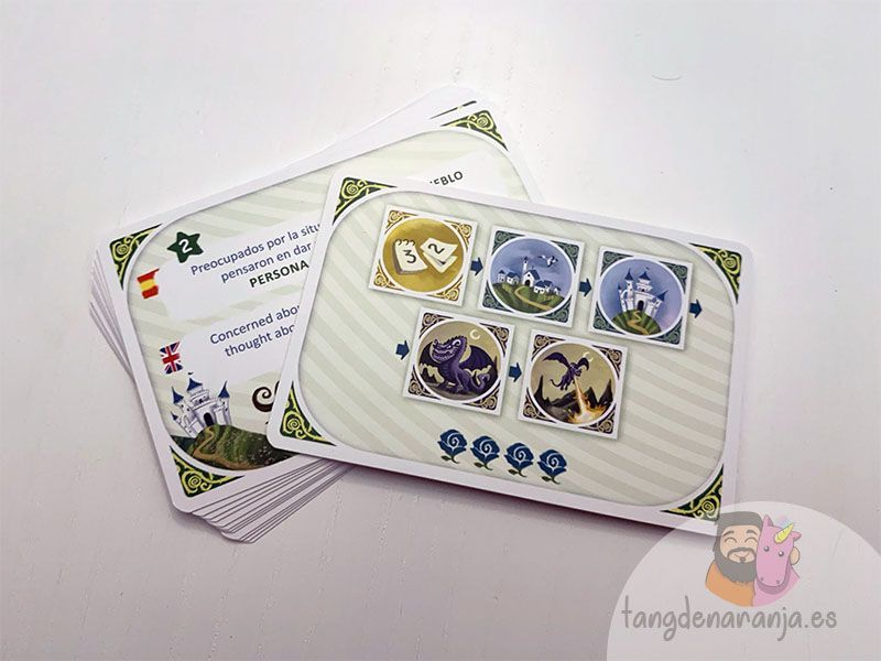 Dorso de las tarjetas de Storytelling