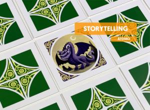 Juego de mesa de contar cuentos