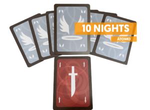 atomo games 10 nights juego de mesa