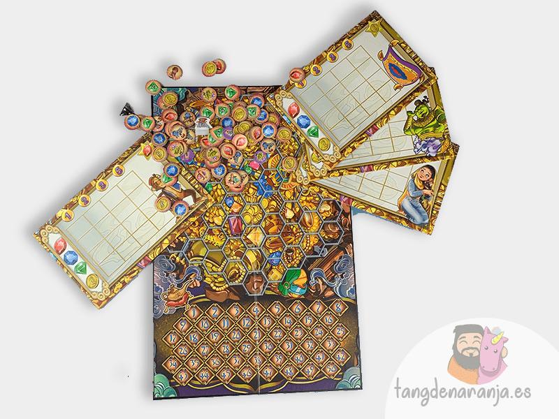 Aladino y la cueva de las maravillas juego de mesa