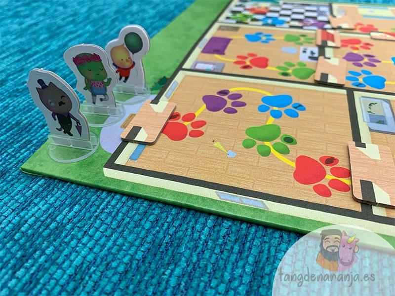 Solos en casa juego de mesa casilla de salida