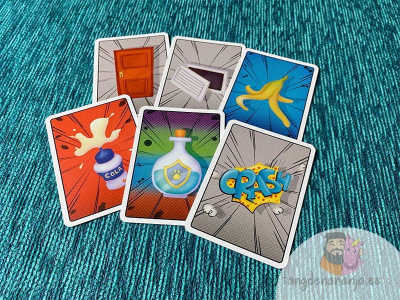 cartas de acción juego de mesa solos en casa