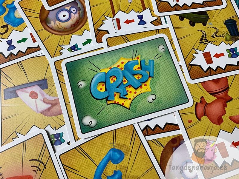 solos en casa juego de mesa crash