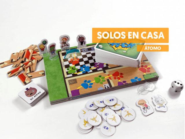 reseña juego de mesa solos en casa