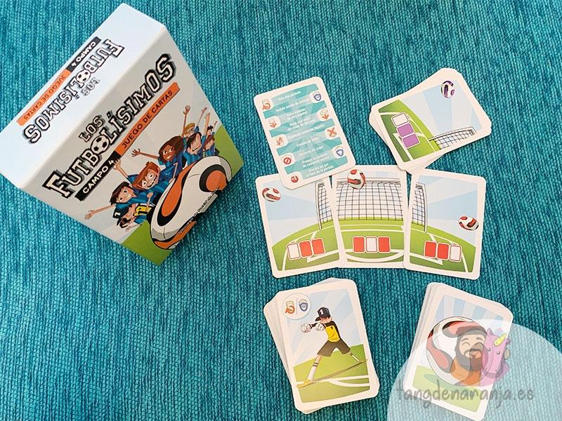juego de cartas de los futbolísimos