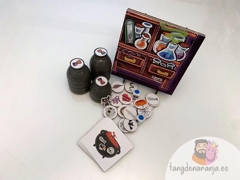 Componentes juego de mesa pozimus