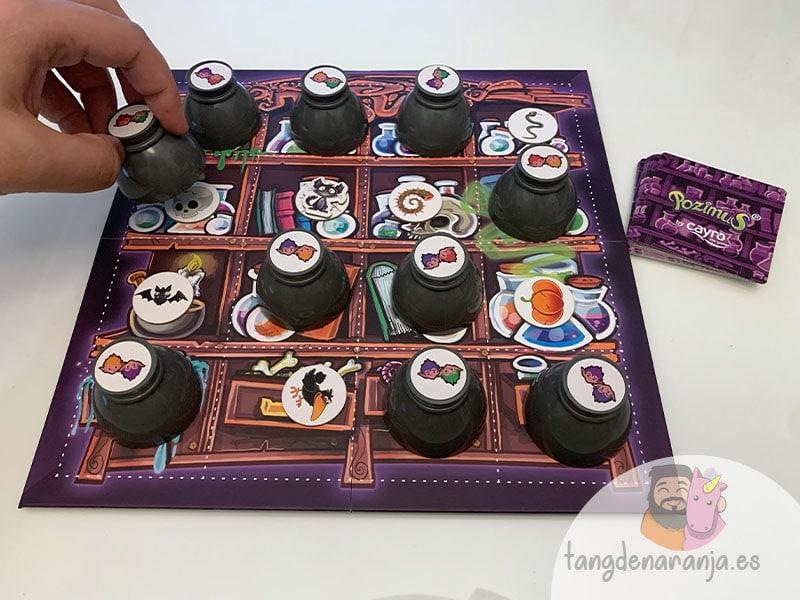 reseña juego de mesa pozimus
